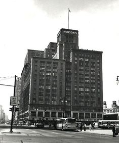The Hudson Building – At one time it was the largest Department Store in the world in Detroit, Michigan