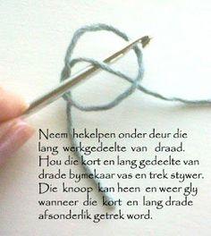 Hekel Idees: Hekelsteke Thread Crochet, Crochet Lace, Crochet Stitches, Easy Knitting Patterns, Crochet Patterns, Afrikaans, Crochet Baby Clothes, Creative, Jackson