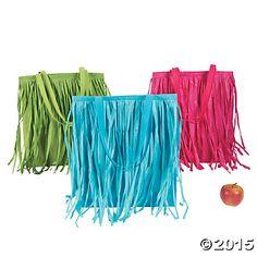 Large Hula Skirt Totes