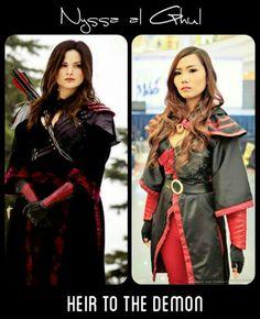 al ghul cosplay Nyssa