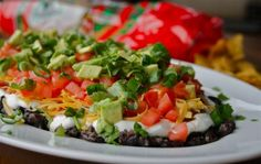 A healthy 9 layer dip