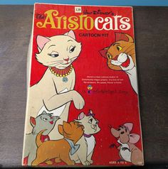 Walt Disney's The Aristocats Movie Cartoon Kit - Colorform Kids Toy Set with Box…