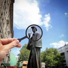 Statue de Sherlock Holmes, Londres (2015) Photo : @Paperboyo