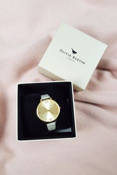 OLIVIA BURTON Ladies Big Dial Watch / Taupe