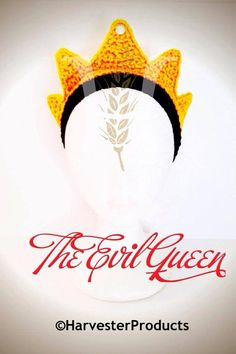 Disney Snow White EVIL QUEEN styled CROWN by HarvesterProducts, $25.00