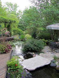 garden around pond | Gatsbys Gardens: A Tale Of Four Gardens - Part Two