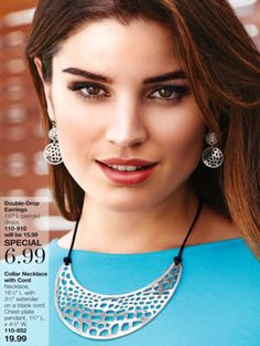 Beautiful jewelry set #Avon #Beautiful #Jewelry.  shop online www.youravon.com/kristipineda