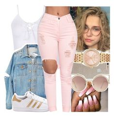 """""""dope af"""" by aribearie ❤ liked on Polyvore featuring Case-Mate, MANGO, Michael Kors and adidas"""