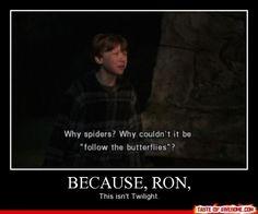 Because Ron.