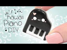 ¿Como Hacer Un Piano Kawaii? Con Este Tutorial Aprenderás A Hacer Un Piano Kawaii - YouTube - aCupOfCakeTV