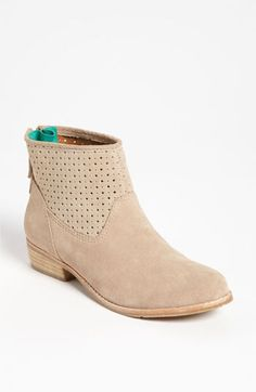 DV by Dolce Vita 'Maeve' Boot a candy color plays hide-and-seek on a short boot with a playful, perforated twist.