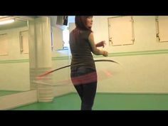 Funland Tricks: Circus start with legs. A bit more advanced hoop trick by Merilei. A great way to start your hoop show! ;)
