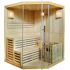 Artsauna Traditionelle Saunakabine/Finnische Sauna Espoo 150 x 150 cm 6 kW Sauna Design, Cabin Design, House Color Schemes, House Colors, Infrarot Sauna, Sauna Accessories, Traditional Saunas, Finnish Sauna, Home Spa