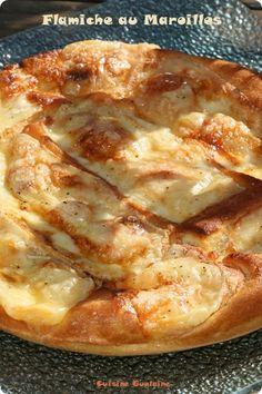 Encore une recette de tarte au Maroilles, allez-vous me dire mais à la maison tout le monde en raffole ! Une recette très simple à préparer, je vais d'ailleurs conserver celle-ci car ils m'ont dit que c'était la meilleure ! J'ai à nouveau utiliser le...