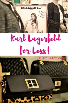 #KarlLagerfeld deals! Shop high-end designer looks for less, just know the secrets that stylists, bloggers and professional shoppers know!