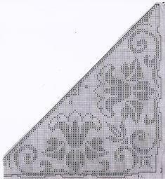 "Photo from album ""Вяжем все on Yandex. Annie's Crochet, Crochet Cross, Crochet Woman, Crochet Scarves, Crochet Shawl, Easy Crochet, Intarsia Patterns, Weaving Patterns, Knitting Patterns"