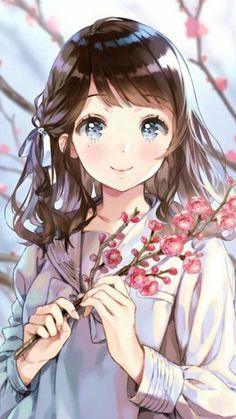 [梦之方块] New games ! Genius director teaches you an alternative animation style – Anime Ideas Manga Kawaii, Chica Anime Manga, Kawaii Anime Girl, Anime Chibi, Anime Love, Pretty Anime Girl, Beautiful Anime Girl, Girls Anime, Anime Art Girl