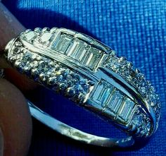 Antique diamond setting band art deco handcrafted in is excellent anniversary band. Any such claim or cause of action must be filed in the Commonwealth of Florida. Platinum Diamond Wedding Band, Vintage Diamond Wedding Bands, Antique Diamond Rings, Platinum Ring, Vintage Engagement Rings, Diamond Anniversary, Anniversary Bands, Vintage Art Deco Rings, Eternity Ring