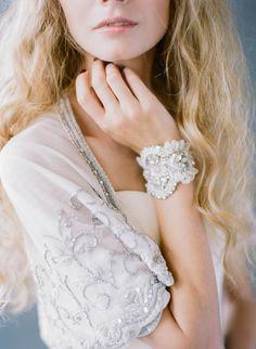 Love Veils Foster Cuff: http://www.stylemepretty.com/2015/10/15/bridal-week-accessories-that-shine/
