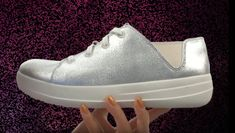 FitFlop Schuhe ❤️ In Den Eleganten Silber Designs ✔️ Clogs, Fitflop, Sporty, Sneakers, Fitness, Design, Fashion, Comfortable Shoes, New Shoes