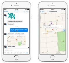 Facebook Messenger introduce una nueva forma de compartir una ubicación