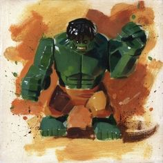 Hulk from James Paterson available now from Evergreen Art Cafe