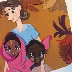 UNICEF kids by @nath.sketch