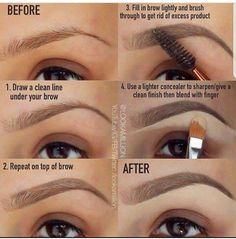 #Eyebrow tutorial