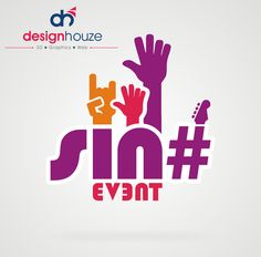 Sinha events logo design