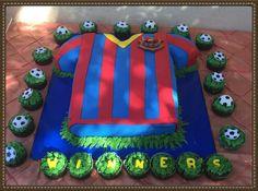 Barcelona cake awesome !! ⚽