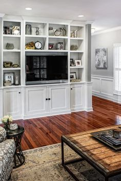 Kate Marker Interiors - transitional - family room - chicago - Marcel Page Photography