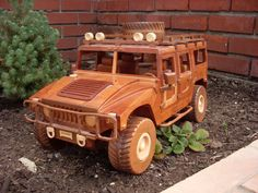 Hummer Handmade Wooden by wmontz on Etsy, $470.00
