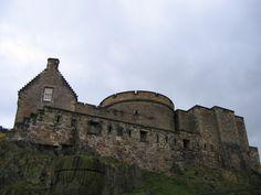 Edinburgh Castle  (Photo Credit to Jenelle Schmidt 2004)