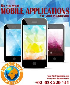 Do you want Mobile Application for your restaurant??  contact us : +02 033 229 141 visit us : www.firstringmedia.com info@firstringmedia.com 16-07-2016 (134)