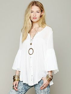 Free People Oversized Tunic