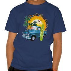 Vintage #Cuba Beach Pick Up Shirt #summer #kids