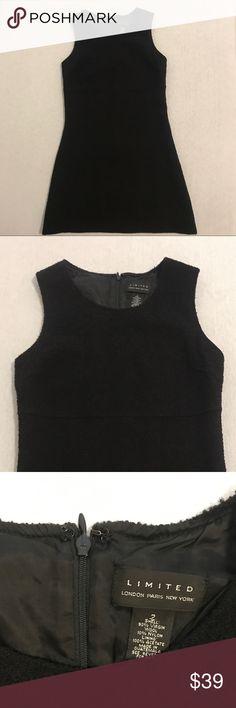 Limited Sleeveless Wool Little Black Dress Excellent Condition. Perfect little black dress! Dresses