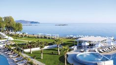 Stay at the TUI BLUE Atlantica Kalliston Resort on your holiday. All of our hotels are carefully handpicked for you. Thomson Holidays, Crete, Resort Spa, Trip Advisor, Travel Destinations, Places To Go, Dolores Park, Europe, Luxury Hotels
