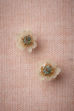 Romantic Rose Gold Wedding~ these would be the perfect something blue for your wedding~ look great with your gown