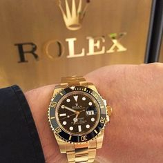 Rolex Logo x Rolex Submariner classy watch such a beautiful and iconic brand. Tag someone who deserves this watch by @horologymania by gentbelike