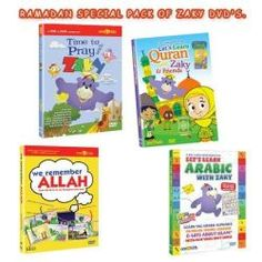 RAMADAN SPECIAL LEARNING PACK OF 4 ZAKY DVD'S - ONE4KIDS in | Ashland, Alabama, United States | Classified Ads | AdlandPro
