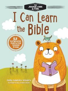52 Scriptures Every Kid Should Know! Get the free printable Bible memory verses, coloring sheets, and progress reward chart from I Can Learn the Bible.
