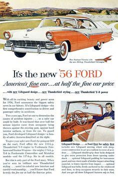 1956 Ford Fairlane Club Victoria