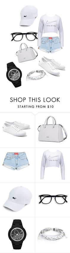 """""""Untitled #242"""" by xheniii ❤ liked on Polyvore featuring Lacoste, NIKE, adidas and West Coast Jewelry"""