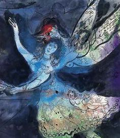 Marc Chagall - Danseuse - 1945