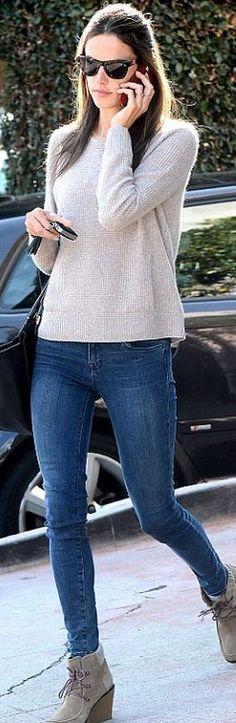 Alessandra Ambrosio: Sunglasses – Westside Leaning  Purse – Michael Kors  Shoes – Lacoste