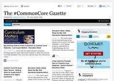 The #CommonCore Gazette (weekly pub)