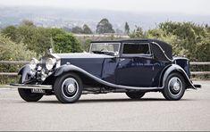 1934 Rolls-Royce Phantom II Continental Sedanca Drophead Coupe, coachwork by Gurney Nutting