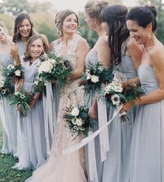 This gorgeous bridal partytag your girls #wedding #inspiration