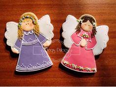 Galleta recordatorio Angelitas